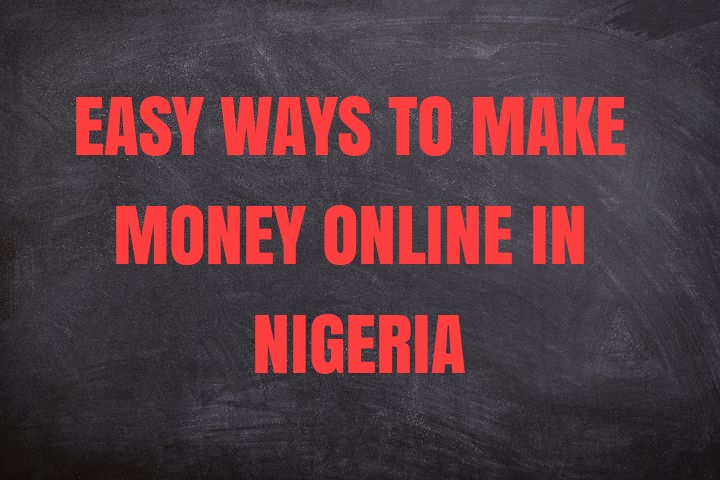make money online in nigeria