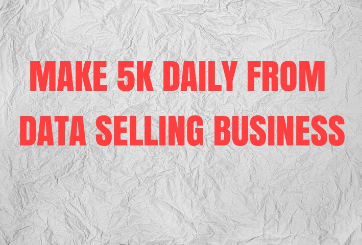 how to start data selling business in nigeria