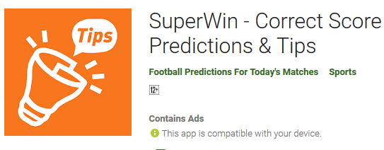 best correct score prediction web app